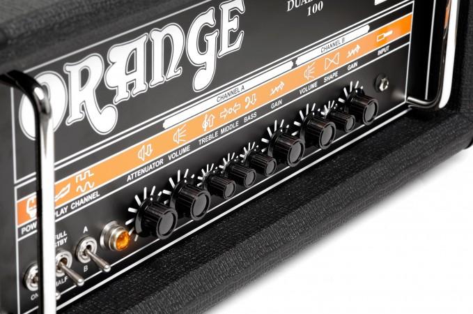 Orange Dual Dark 100 Tube Amp Head - Guitar and Bass Amps